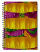 Feather Collage 1 Spiral Notebook