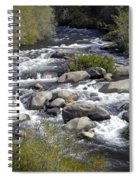 Feather River White Water Spiral Notebook