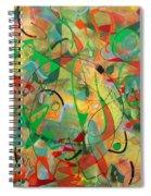 Feathered Nest Spiral Notebook