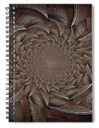Feathers In Bloom Spiral Notebook