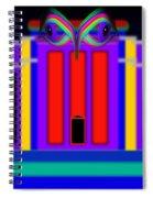 Federal Blue Spiral Notebook