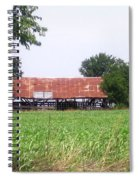 Feeding Barn Spiral Notebook