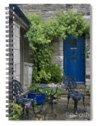Feel A Homey Ambience Spiral Notebook