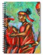 Feel The Spirit Spiral Notebook