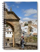 Felipe V Arch In Ronda Spiral Notebook