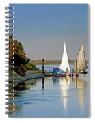 Feluccas On The Nile Spiral Notebook