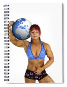 Female Atlas Spiral Notebook