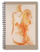 Female Form Spiral Notebook