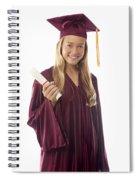 Female Graduate II Spiral Notebook