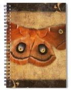 Female Moth Spiral Notebook