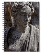 Female Statue Spiral Notebook
