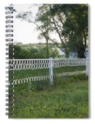 Fence Or Shoes Spiral Notebook