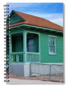 Fenced Yard Spiral Notebook