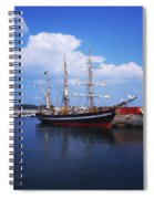 Fenit, Co Kerry, Ireland Famine Ship Spiral Notebook