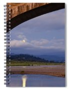 Fernbridge And The Moon Spiral Notebook