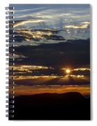 Fernley Sunrise 1 Spiral Notebook