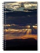 Fernley Sunrise 2 Spiral Notebook