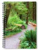 Ferns And Mosses Spiral Notebook