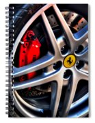 Ferrari Shoes Spiral Notebook