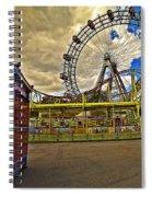Ferris Wheel - Vienna Spiral Notebook