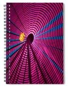 Ferris Wheel In Pink Spiral Notebook