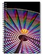 Ferris Wheel Rainbow Spiral Notebook