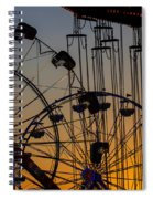 Ferris Wheels Spiral Notebook