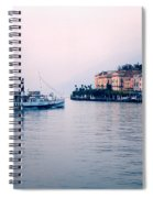 Ferry To Bellagio On Lake Como Spiral Notebook