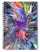 Festival Of Flowers II Spiral Notebook