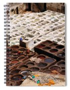 Fez Tannery Spiral Notebook