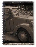 Fiat Dream Car Spiral Notebook