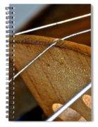 Fiddle Strings Spiral Notebook