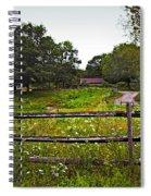 Field Of Flowers 3 Spiral Notebook