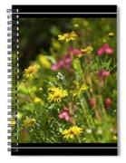 Field Of Wildflowers Spiral Notebook