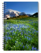 Fields Of Paradise Spiral Notebook