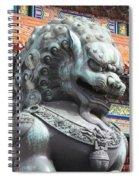 Fierce Face Spiral Notebook