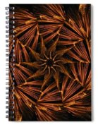 Fiery Pinwheel Spiral Notebook