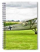 Fieseler Fi 156 Storch Spiral Notebook