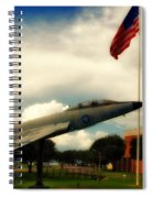 Fighter Jet Panama City Fl Spiral Notebook