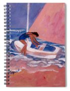 Fighting To Sail Spiral Notebook