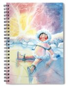 Figure Skater 10 Spiral Notebook