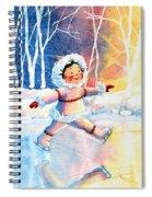 Figure Skater 11 Spiral Notebook