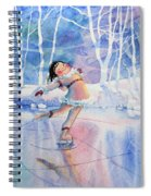 Figure Skater 14 Spiral Notebook
