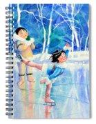 Figure Skater 15 Spiral Notebook