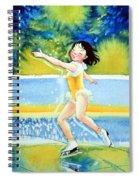 Figure Skater 18 Spiral Notebook
