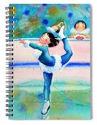 Figure Skater 19 Spiral Notebook