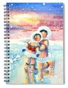 Figure Skater 7 Spiral Notebook
