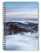Filey Brigg Waves Spiral Notebook
