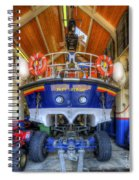 Filey Lifeboat Spiral Notebook