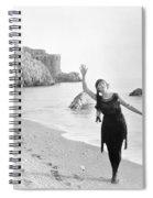 Film Still: Beach Spiral Notebook
